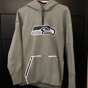 Nike NFL Seattle Seahawks Men's Therma Fit Hoodie
